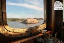 An Bord der Ukkupekka auf dem Weg nach Loistokari