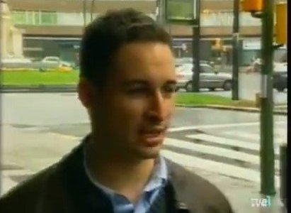 Entrevista a Abascal cuando era concejal por Llodio con 24 años