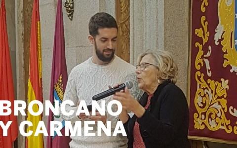 Broncano le transmite a Carmena los verdaderos problemas de la gente