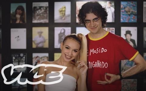 Ernesto Castro charla con Bad Gyal