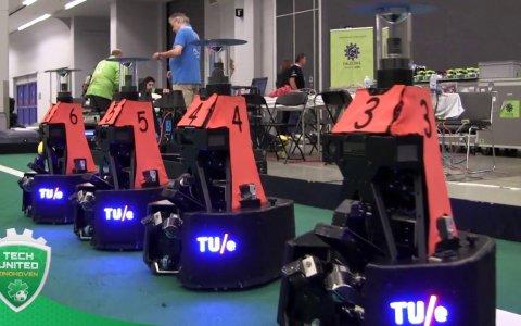 Final de la RoboCup 2018: el torneo de fútbol robótico