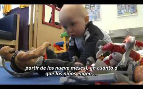 Niños y niñas: ¿Prefieren distintos tipos de juguetes?