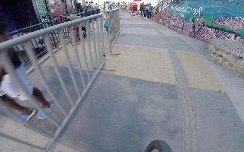Record del mundo de descenso urbano más largo, en Medellín