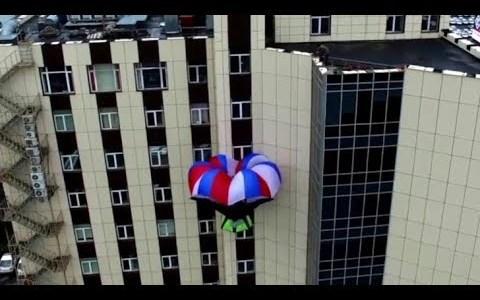 Un artilugio diseñado para escapar de rascacielos en llamas