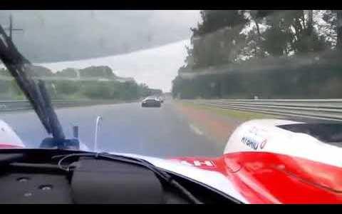 Alonso haciendo un monster kill en LeMans