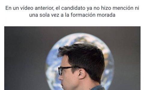 """Señorias.... Iñigo Errejón salta del Trasatlántico de Podemos y se monta en una lancha salvavidas que se llama """"Más Madrid"""""""