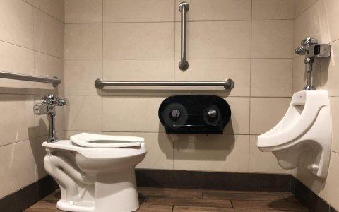 Este cuarto de baño me está invitando a intentar la épica del measentado