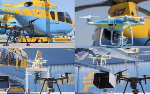 Ya están aquí los Multa-Drones de la DGT