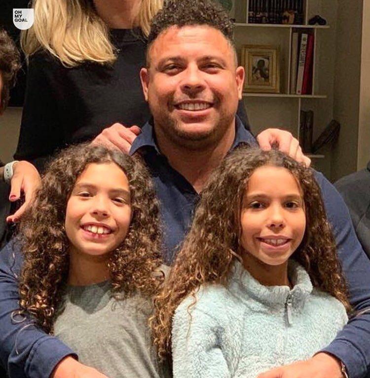 Las hijas de Ronaldo son más parecidas a Ronaldo que el propio Ronaldo.