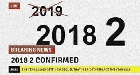 Última hora, se cancela 2019