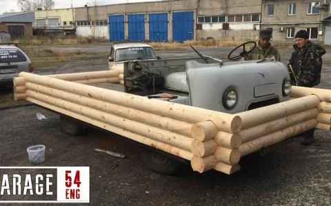 """Convirtiendo una furgoneta UAZ rusa en una """"casa sobre ruedas"""""""
