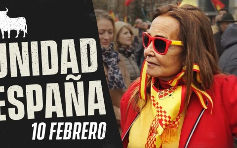 """Haciendo preguntas a los manifestantes """"por la unidad de España"""""""