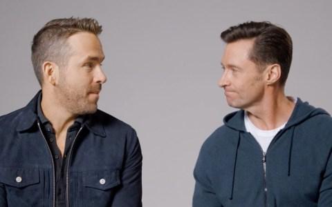 Ryan Reinolds y Hugh Jackman se han dado una tregua en las redes sociales y han decidido hacerse promosió el uno al otro