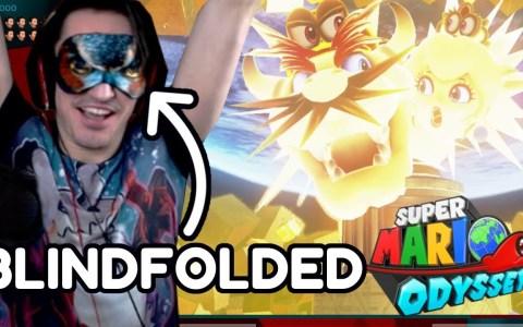 Un enfermo se pasa el Super Mario Odyssey con los ojos vendados en 12 horas