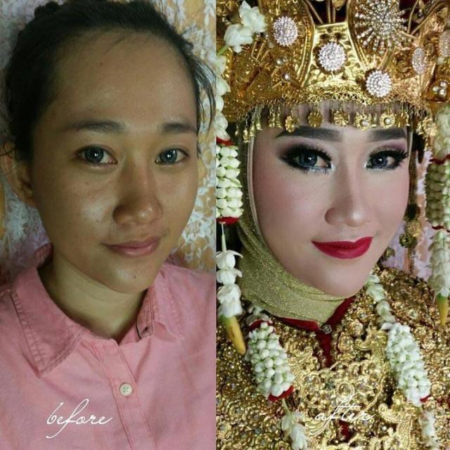 Novias asiáticas antes y después de pasar por 3 horas de chapa y pintura