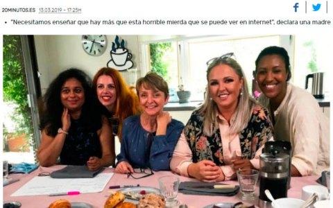 Estas 5 madres han creado una iniciativa para que la chavalada no base su educación secsual en lo que suele ver en Xvideos