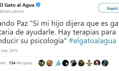 Fernando Paz es el Monguer of the day
