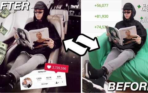 Experimento social: se hace pasar por millonario en Instagram durante una semana
