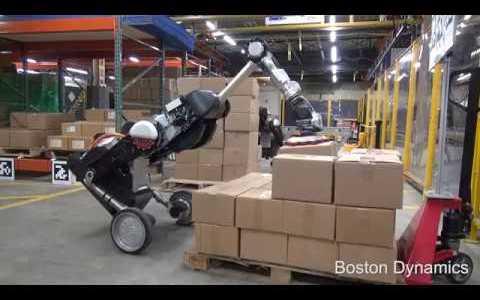 Handle: Boston Dynamics da el primer paso hacia la eliminación total de los humanos en todos los almacenes