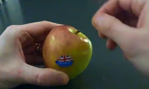 Habéis estado comiendo mal las manzanas todo este tiempo