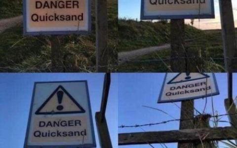 Cuidado: arenas movedizas