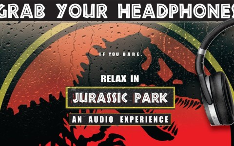 3 horas de sonido de lluvia en Jurassic Park