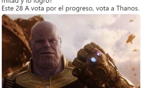 Thanos al menos cumple lo que promete
