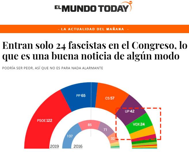 Que ha vuelto a ganar el PSOE, pero al menos hemos parado el fascismo... ¿no?