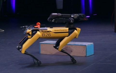 Boston Dynamics muestra las habilidades de su Spot Mini