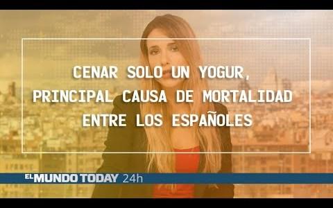 Cenar solo un yogur, principal causa de mortalidad entre los españoles
