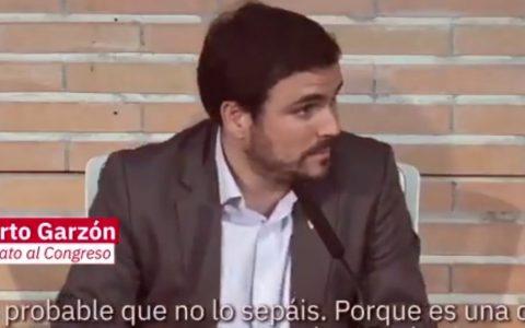 Alberto Garzón explica cómo defraudar 103 millones de euros y que te salga a devolver