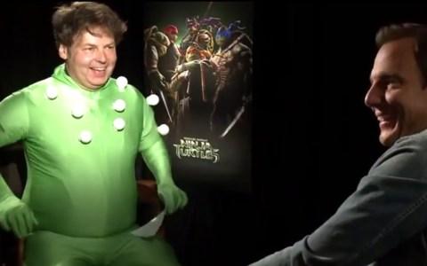 La mejor entrevista posible a una tortuga ninja