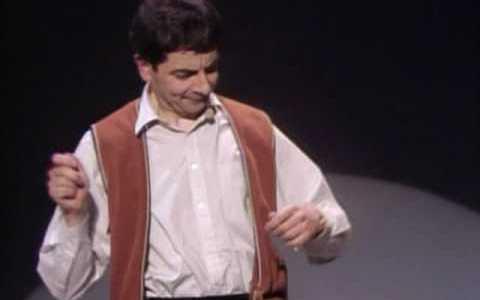 Rowan Atkinson - Batería invisible