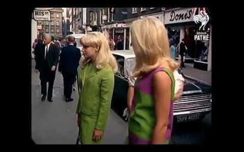 Un verano en Londres allá por 1967 (¡y en color!)
