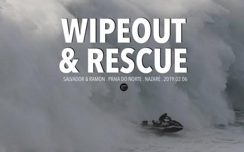 Uno de los trabajos más peligrosos del mundo: Rescatador de surfistas en Nazaré