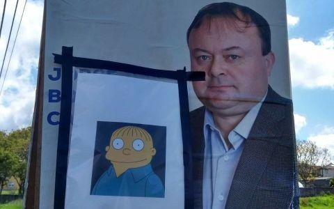 """Eslogan del PP en Valdoviño: """"Yo me llamo Ralph"""""""