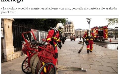 Bomberos de París: de héroes a villanos
