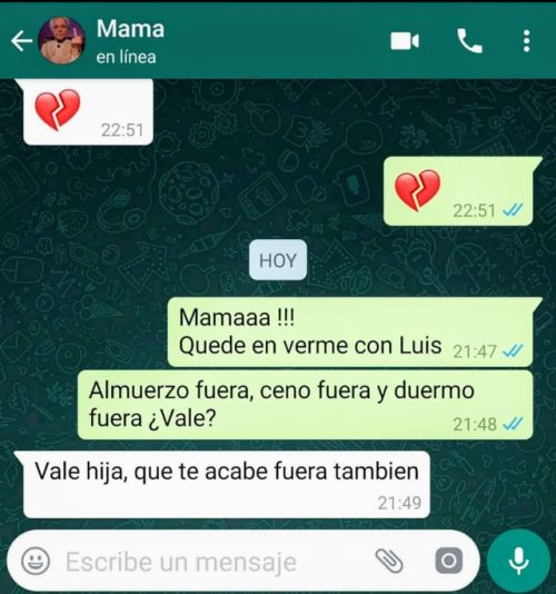 Consejo de madre