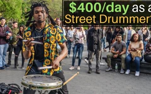 Cornelio, el percusionista callejero neoyorquino que gana 400 euros al día