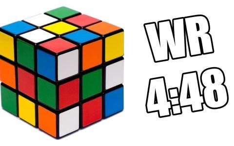 El Fínolier Chukas bate el récord de Cubo de Rubik