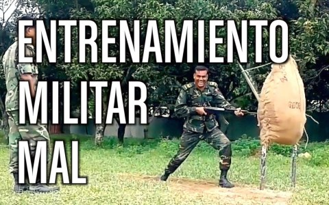 Entrenamiento de carga de bayoneta MAL