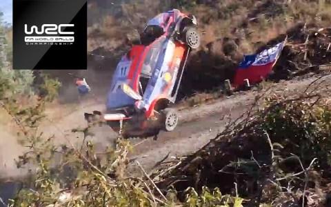 Espectacular accidente de Thierry Neuville