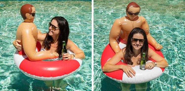El flotador para solteras exigentes