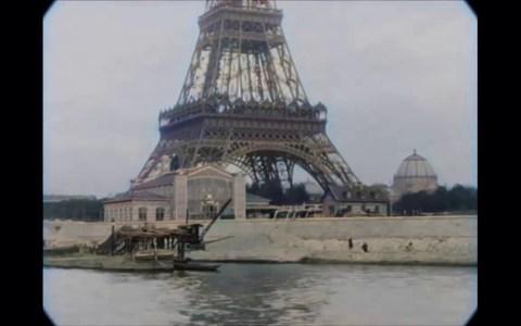 Imágenes a color de París en 1890