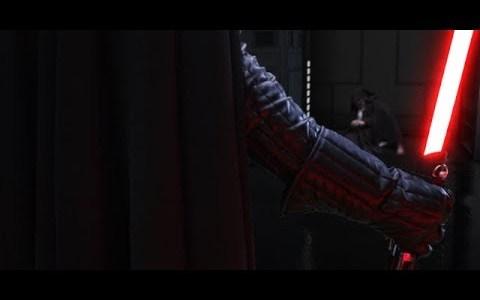 La lucha entre Ben Kenobi y Darth Vader reimaginada