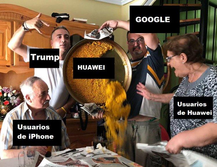 Resumen del conflicto de EEUU con Huawei