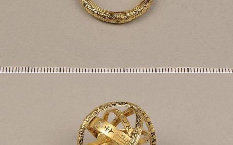 Un anillo del siglo XVI que se convierte en esfera astronómica