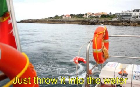 U SAFE: El salvavidas teledirigido