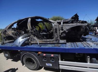 El coche de Reyes sufrió un reventón cuando circulaba a 237 kms/hora