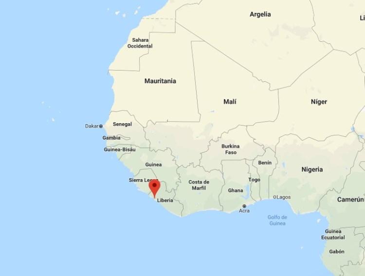 """¿Sabías que en Liberia hay un pueblo llamado """"Chocolate City""""?"""